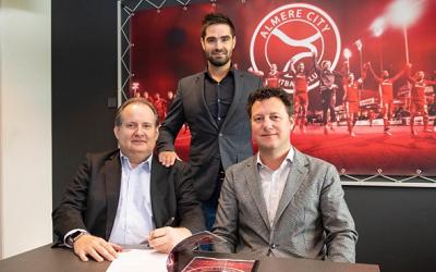 Samenwerking met Almere City FC verlengd